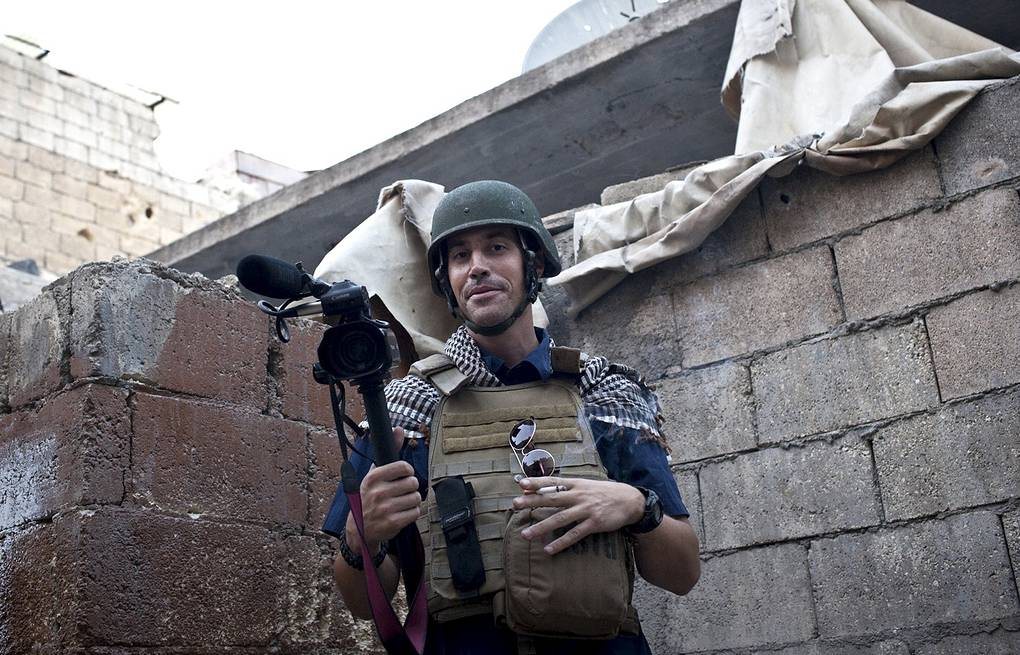 Журналист Джеймс Фоули Архив AP Photo/Nicole Tung, freejamesfoley.org