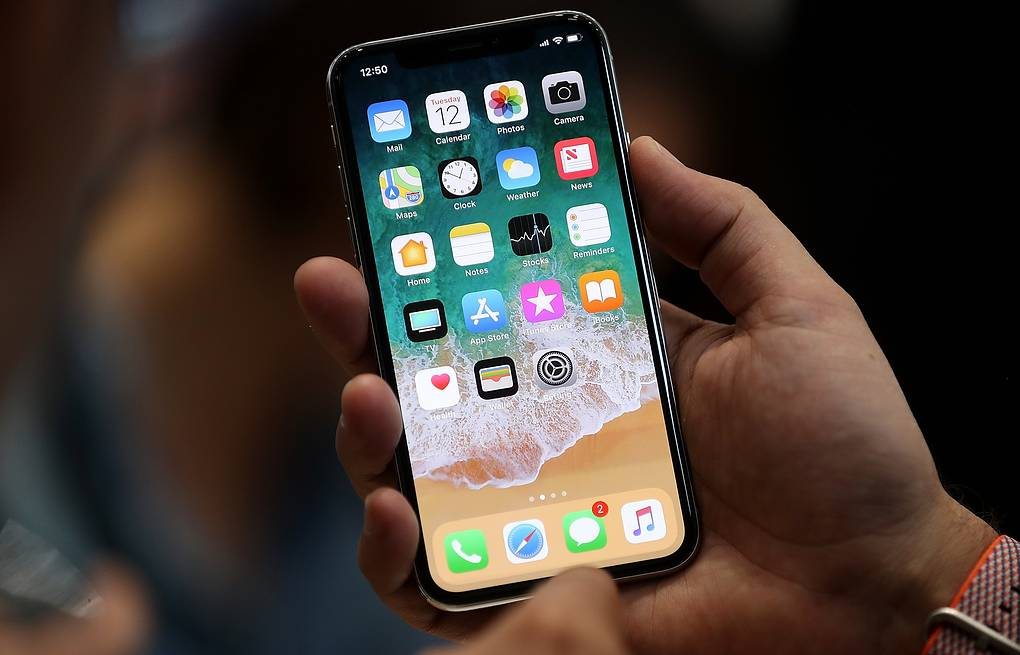 iPhone X Justin Sullivan/Getty Images