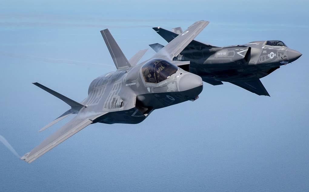 Истребители F-35 Matt Cardy/Getty Images
