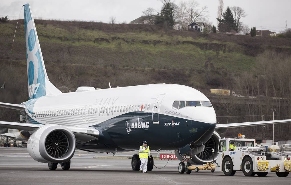 Самолет Boeing 737 MAX 8 Stephen Brashear/Getty Images