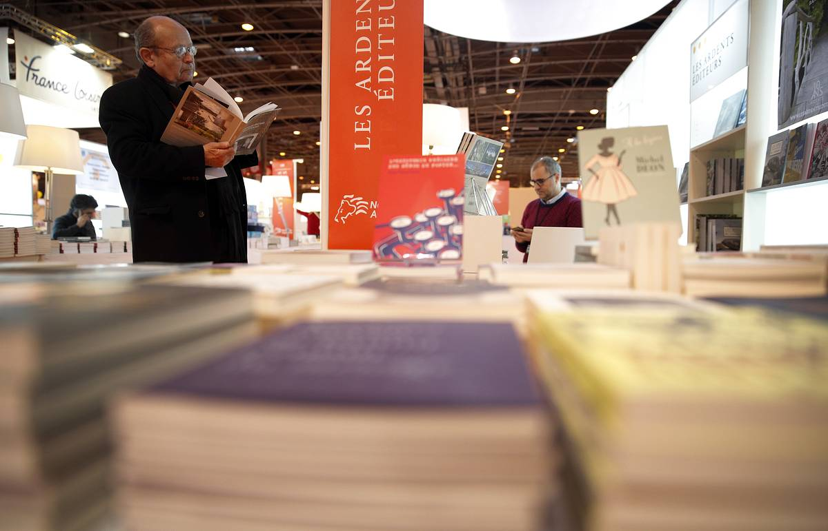 Russia to be honorary guest at Paris Book Fair 2018
