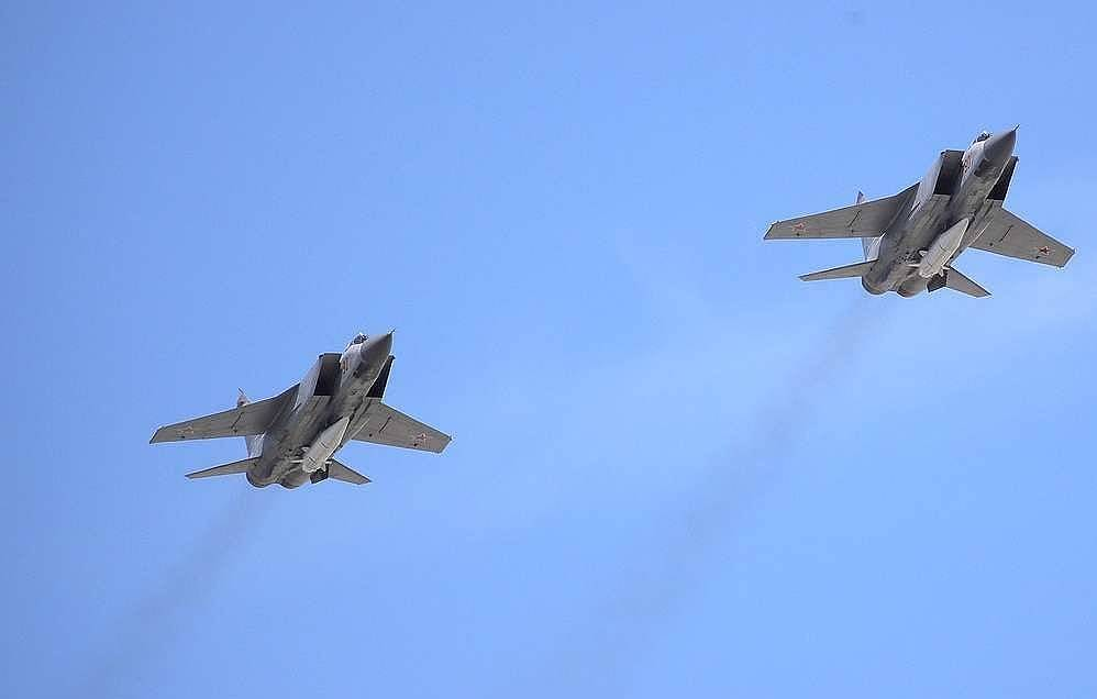 Russian fighter jets scrambled four times in one week on