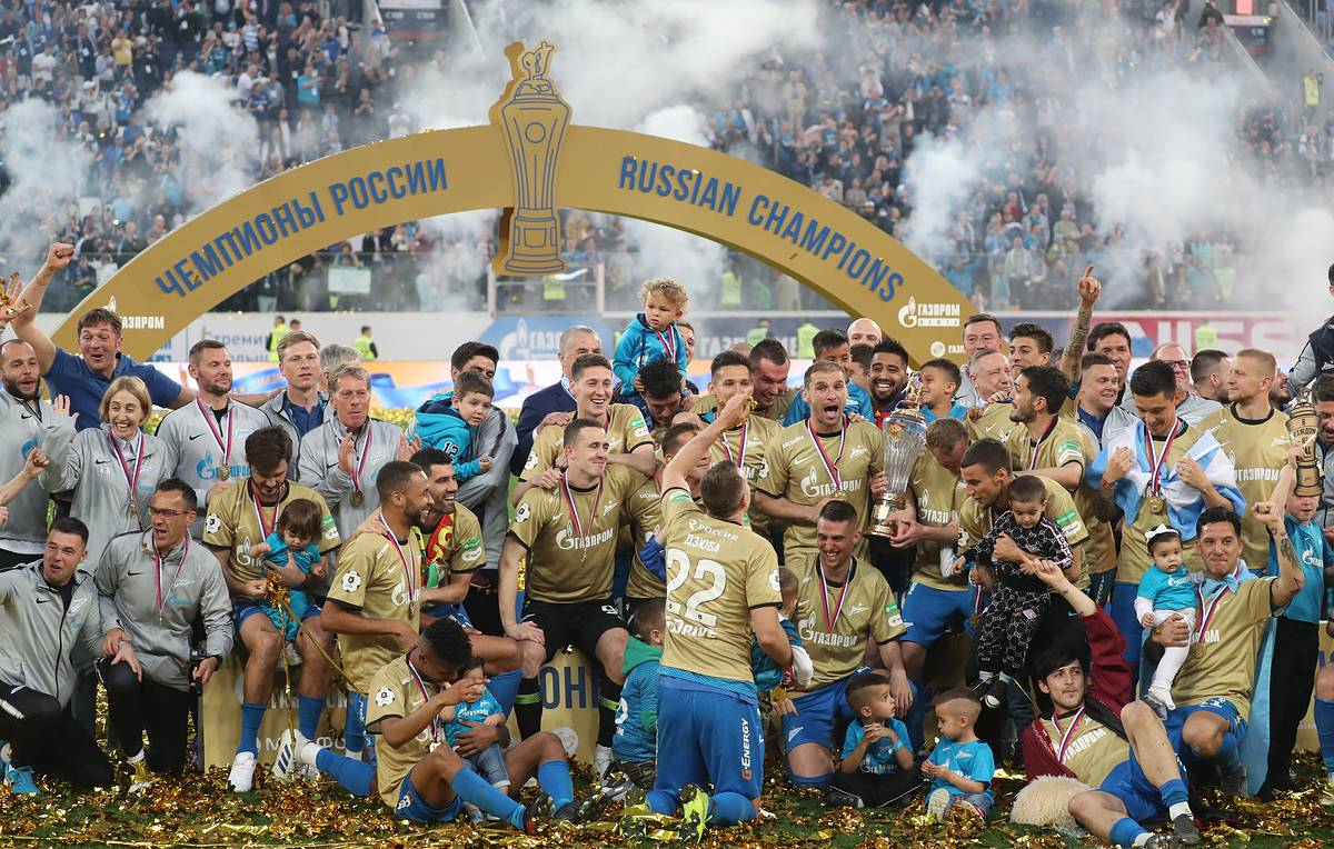 This week in photos: FC Zenit's win, Yekaterinburg protests, Notre Dame awaits restoration
