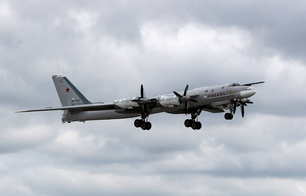 Russian Tu-95MS bombers make another observation flight over Alaska