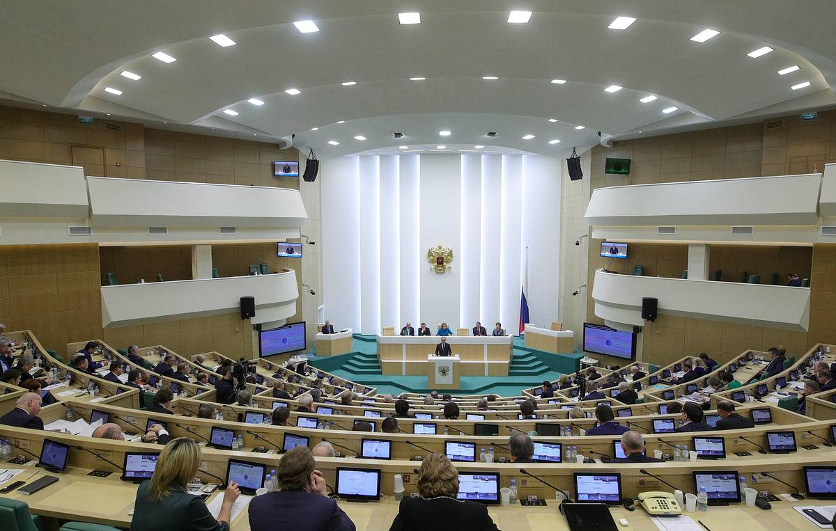 Russia's upper house approves bill suspending Russia's participation in INF Treaty