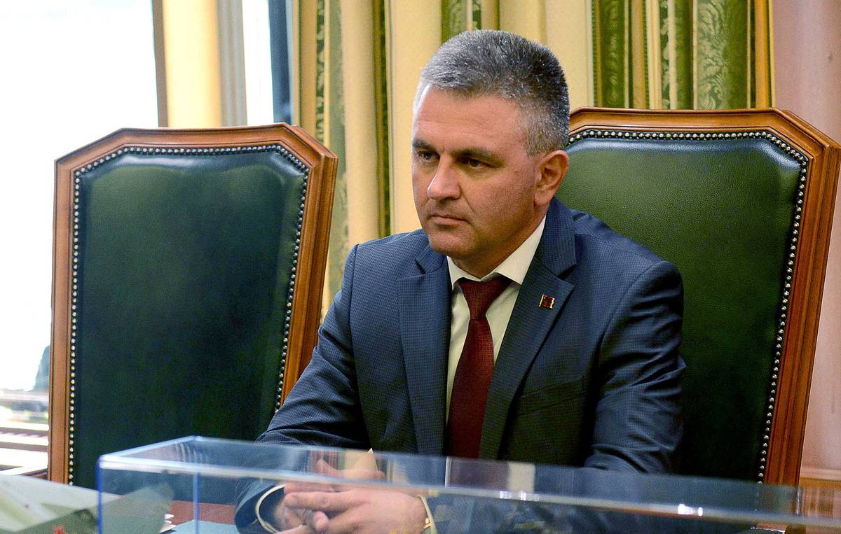 Transnistrian leader hails effective peacekeeping operation under Russia's auspices