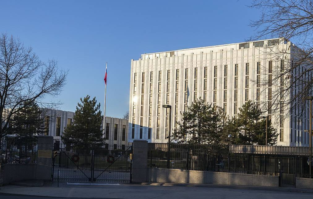 Russian embassy to turn to Department of State amid media claims targeting its diplomats