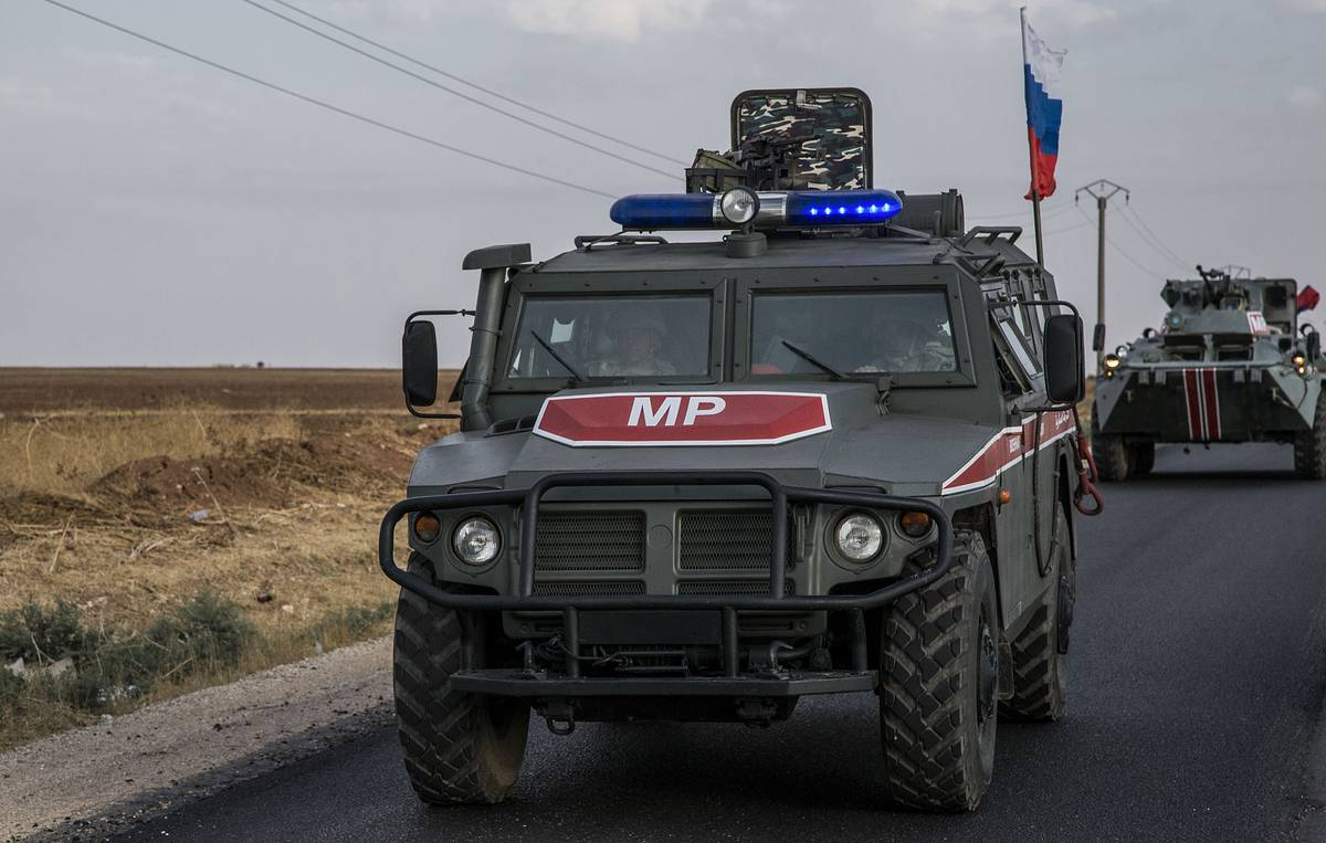 Russian military police expand patrol area in northern Syria