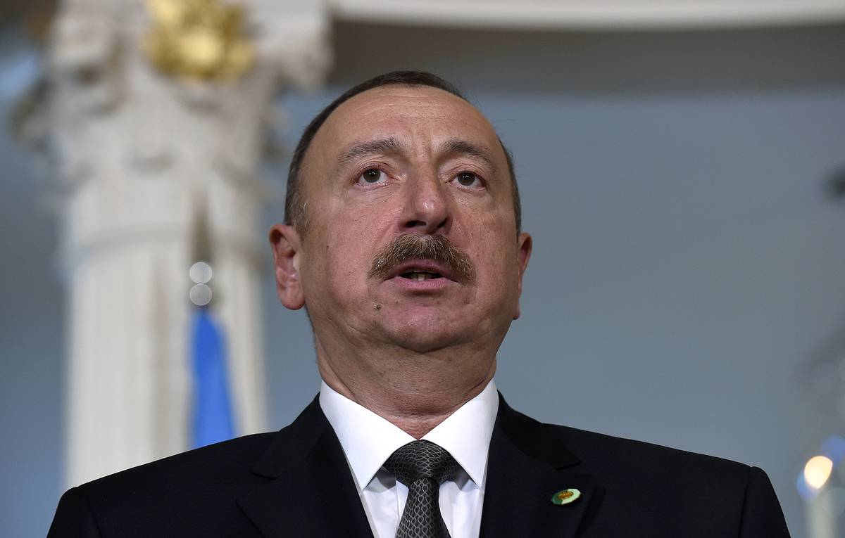 Azeri leader says Turkish F-16 fighters not taking part in Nagorno-Karabakh fighting