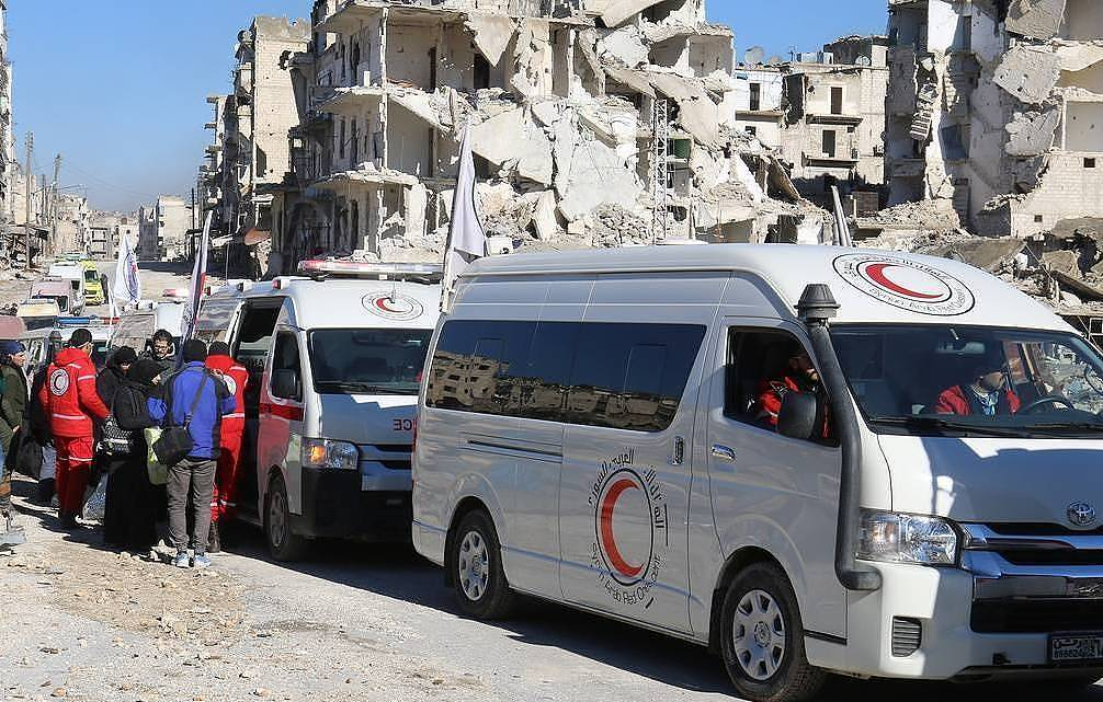 Nine people killed in attack on bus in Syria - newspaper