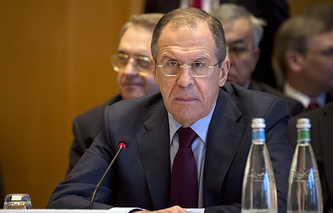Russia's Foreign Minister Sergei Lavrov