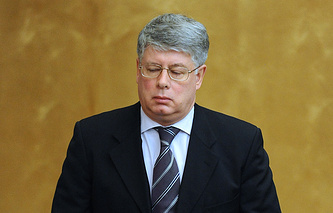 Permanent Representative of the Russian Federation at the UN office and other international organizations in Geneva Alexei Borodavkin