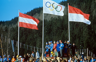 Winter Olympics 1964 in Innsbruck (Austria)