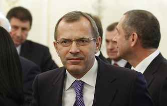 Ukraine's presidential chief of staff Andrei Klyuyev