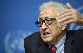 UN Arab League Special envoy for Syria Lakhdar Brahimi