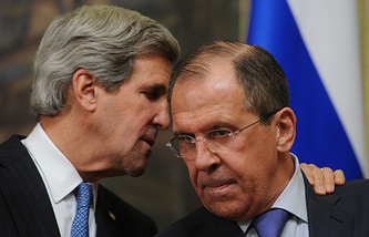 John Kerry and Sergei Lavrov (archive)