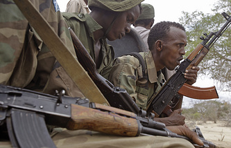 Somalian soldiers (archive)