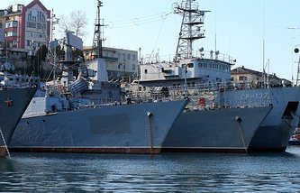Russia's Black Sea Fleet vessels