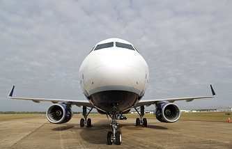 An Airbus aircraft (archive)