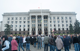 The House of Trade Unions in Odessa