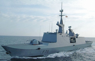 French frigate Surcouf