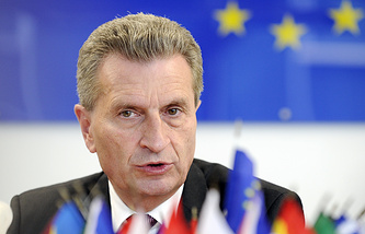 Spokesperson of EU Energy Commissioner Guenther Oettinger