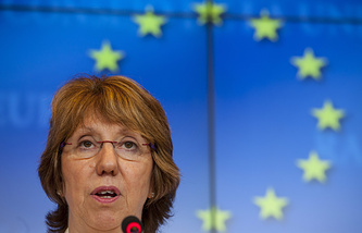 High Representative for Foreign Affairs and Security Policy for the European Union Catherine Ashton