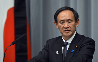 Japan's government spokesman Yoshihide Suga