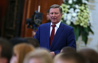 Head of the Russian presidential administration Sergei Ivanov