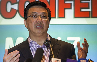 Malaysian Transport Minister Liow Tiong Lai
