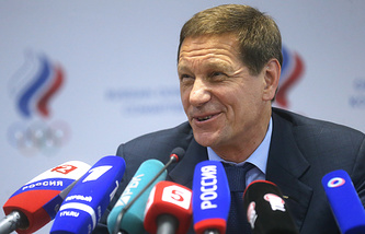President of the Russian Olympic Committee (ROC) Alexander Zhukov