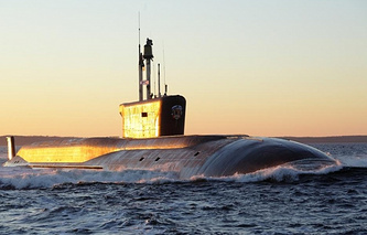 The Vladimir Monomakh nuclear submarine