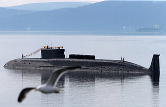 Yuri Dolgoruky nuclear-powered submarine