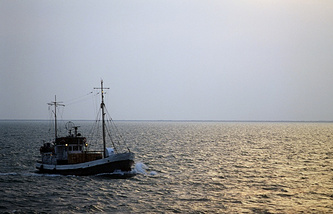 A view of the Caspian Sea (archive)