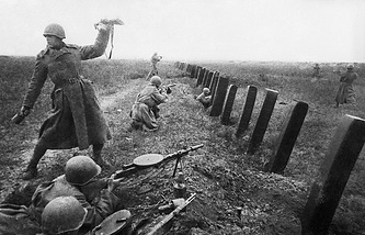 Fighting for the liberation of Odessa region, 1944