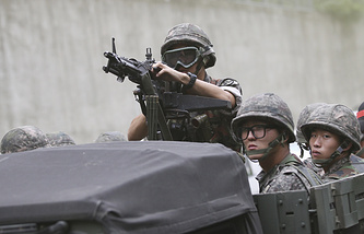 Military drills in South Korea (archive)