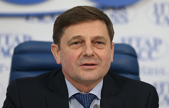 Oleg Ostapenko, the director of Russia's Federal Space Agency (Roscosmos