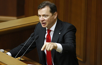 Ukraine's Radical Party leader, Oleh Lyashko