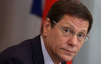 Alexander Zhukov, the President of the National Olympic Committee