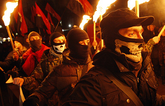 Radicals march in Kiev (archive)