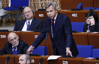 Alexey Pushkov at PACE