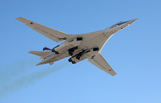 Tupolev Tu-160 strategic bomber (archive)