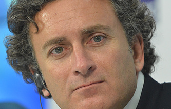 Alejandro Agag, the Chief Executive of the Formula E racing