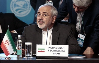 Iranian Foreign Minister Mohammad Javad Zariff
