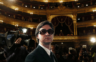 Bolshoi Theater ballet artistic director Sergey Filin