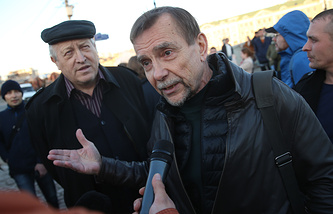 Russian human rights activist Lev Ponomaryov