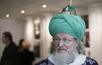 Chief Mufti of Russia Talgat Tadzhuddin