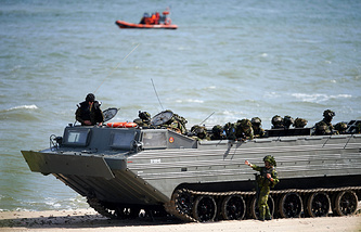 NATO 'Baltops 2015' exercises in Poland