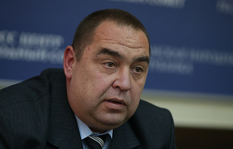 Head of Ukraine's self-proclaimed Luhansk People's Republic, Igor Plotnitsky
