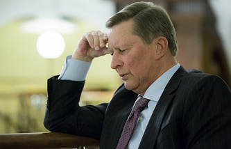 Chief of Staff of Russia's Presidential Executive Office Sergei Ivanov
